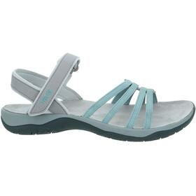 Teva Elzada WEB Sandalen Dames, turquoise/grijs
